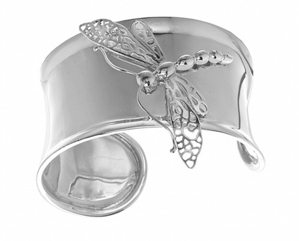 Dragonfly, Sterling Silver Cuff D006