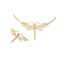 18 karat pin pendent , chain sold separately