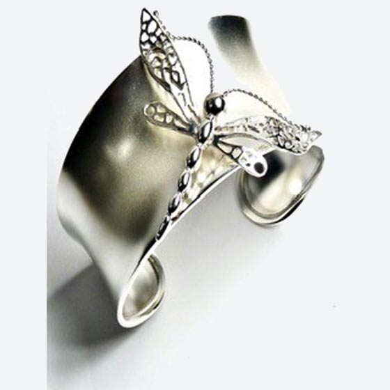 Dragon-fly-bracelet-sterling-silver