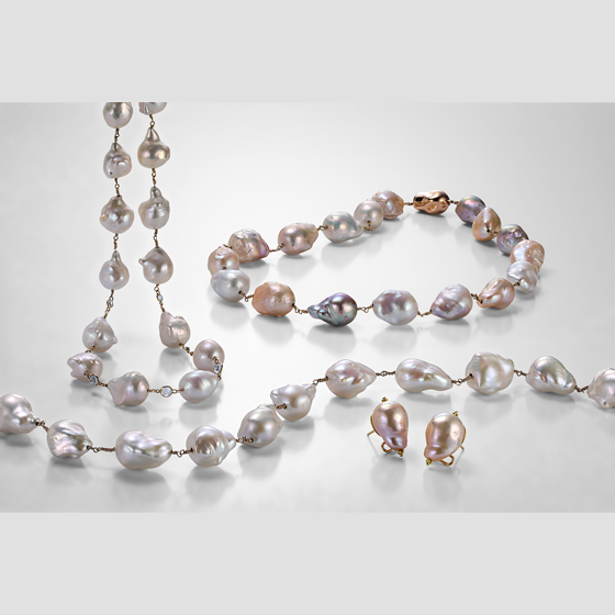 Freshwater baroque pearls, so many designs to chose from